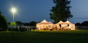 אוהל לחתונה בטבע
